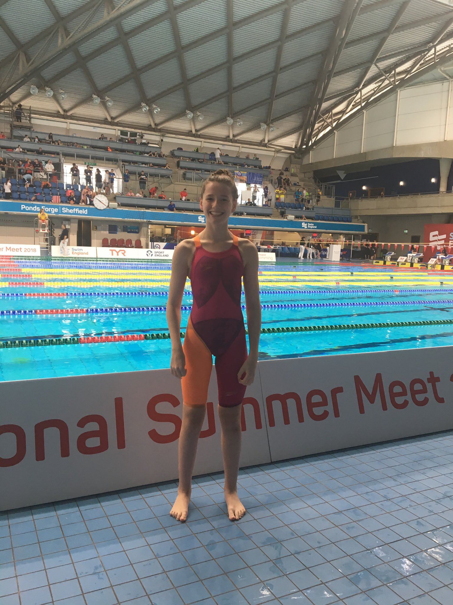 Maddie Harris: 2017-18 Swim Season Report